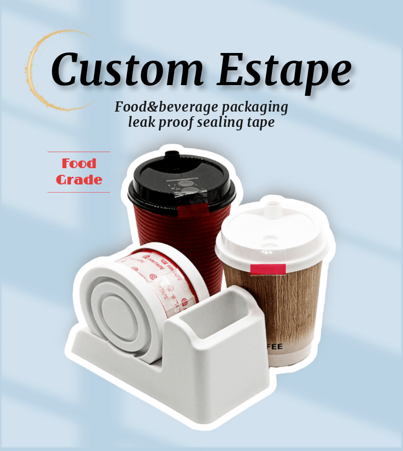 Easy Tear and Paste Packaging Sealing Estape