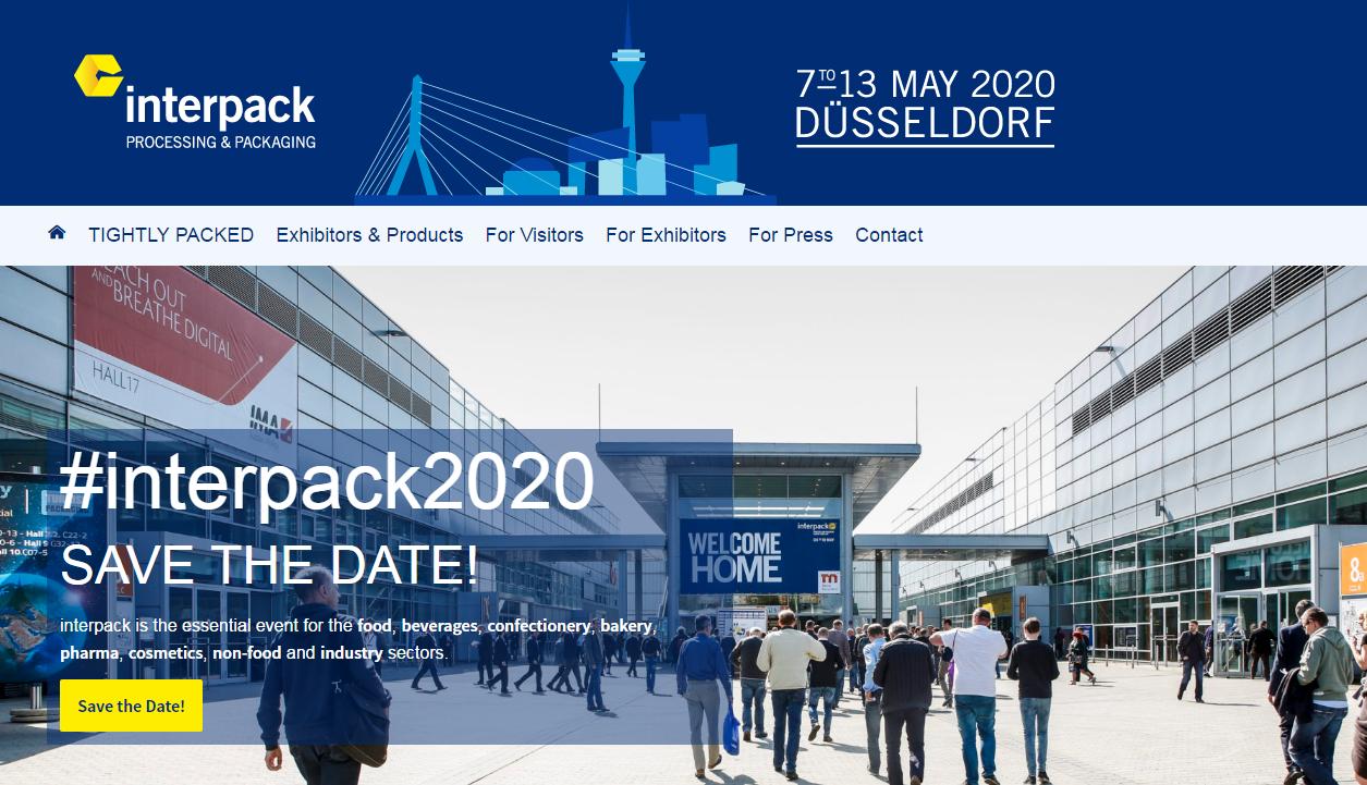 Almanya Interpack 2020 Fuarı