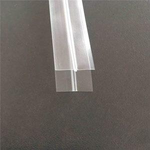 Şeffaf plastik torba fermuar